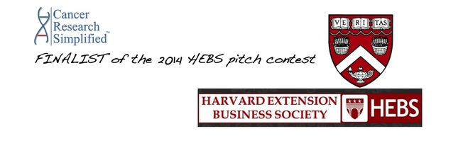 HEBS - Harvard - Pitch Competition - Cancer Research Simplified