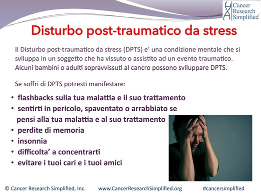 Cancro e psicologia - depressione - Cancer Research Simplified