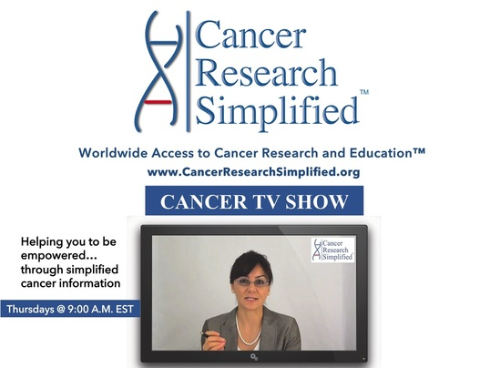 Cancer TV Show-Cancer Research Simplified