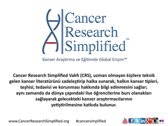 CRS kimdir - Cancer Research Simplified kimdir ne yapar