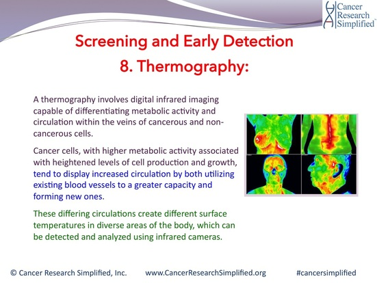 Thermography - Cancer Research Simplified