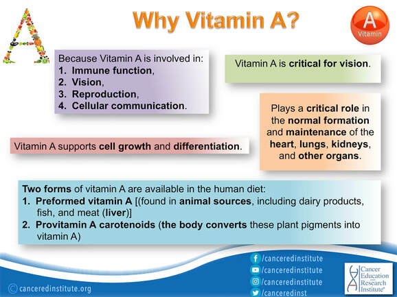 Vitamin A - Cancer Education and Research Institute (CERI)