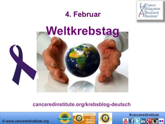 Weltkrebstag - Cancer Education and Research Institute (CERI)